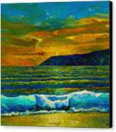 Along The African Coast Canvas Print