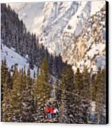 Alta Ski Resort Wasatch Mts Utah Canvas Print