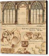 Altar Screen Beverly Minster East Riding Yorkshire England 1883 Canvas Print
