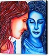 Alter-tiff Ego Canvas Print by Joseph Lawrence Vasile