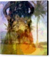 Aluna Ahiahi Hula Canvas Print