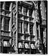 Alwyn Court Building Detail 14 Canvas Print