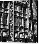 Alwyn Court Building Detail 14 Canvas Print by Val Black Russian Tourchin