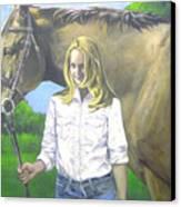 Alyssa And Joe Canvas Print