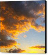 Amarillo Golden Sunset Canvas Print by Jeff Steed