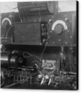 Amateur Wireless Station, Photograph Canvas Print by Everett