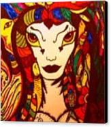 Amazon Queen Canvas Print