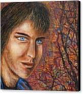 Amber Glow Canvas Print