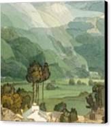 Ambleside Canvas Print by Francis Towne