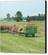 American Farming Canvas Print