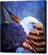 American Freedom  Canvas Print by Nicole Markmann Nelson