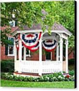 American Gazebo Canvas Print