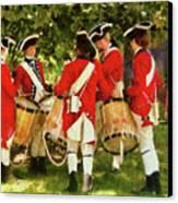 Americana - People - Preparing For Battle Canvas Print