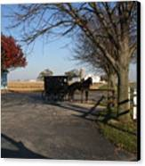 Amish 4 Canvas Print by Eric Irion