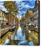 Amsterdam Canvas Print by Svetlana Sewell