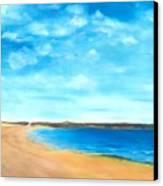 Amy's Vacation Canvas Print by Dana Redfern
