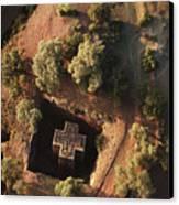 An Aerial View Of Beta Canvas Print by James P. Blair