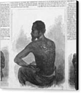 An African American Runaway Slave Named Canvas Print by Everett