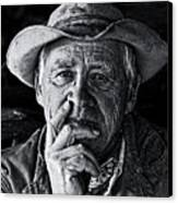 An Honest Man Canvas Print by Ron  McGinnis