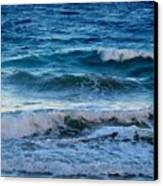 An Unforgiving Sea Canvas Print