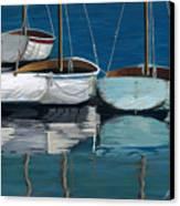 Anchored Reflections I Canvas Print