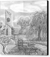 Ancient Church Canvas Print