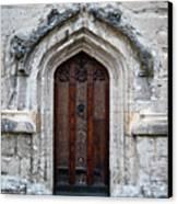 Ancient Door Canvas Print by Douglas Barnett