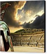 Ancient Greece Canvas Print by Meirion Matthias