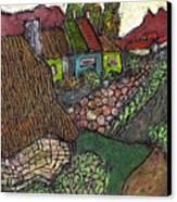Ancient Village Canvas Print