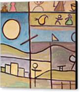 Andante Canvas Print