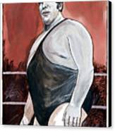Andre The Giant Canvas Print by Dave Olsen