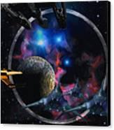 Andromeda Beckons Canvas Print