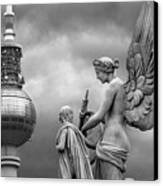 Angel In Berlin Canvas Print