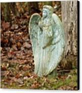Angel In The Woods Canvas Print by Danielle Allard