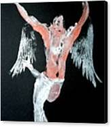 Angel Leaping Canvas Print