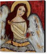 Angel Of Kindness Canvas Print by Rain Ririn