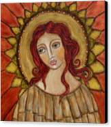 Angel Of Nature Canvas Print