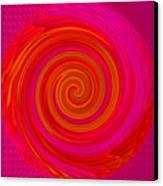 Angel-spiral Canvas Print by Ramon Labusch