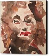 Angela IIi Canvas Print by Khalid Alzayani