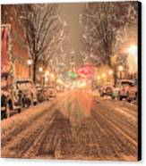 Angelic Snow Canvas Print by JC Findley