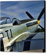 Angels Playmate P-51 Canvas Print