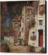 Angolo Buio Canvas Print by Guido Borelli