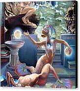 Animus Dimensio Temporum Canvas Print by Patrick Anthony Pierson