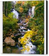 Anna Ruby Falls Canvas Print