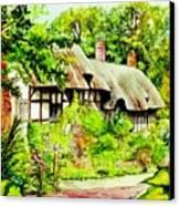 Anne Hathaways Cottage  Canvas Print
