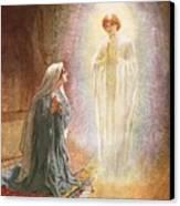 Annunciation Canvas Print by William Brassey Hole