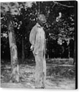 Anonymous African American Lynching Canvas Print