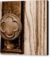 Antique Doorknob Canvas Print