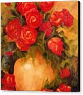 Antique Roses Canvas Print