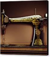 Antique Singer Sewing Machine Canvas Print